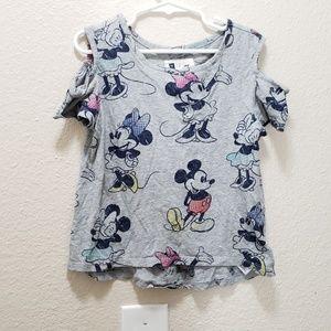 Gap kids Disney cold shoulder top